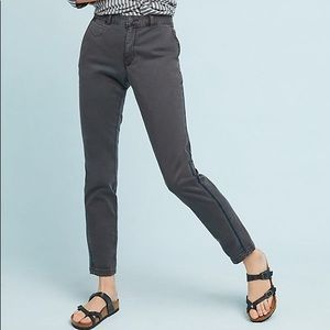 Anthropologie Relaxed Chino Livia Trousers